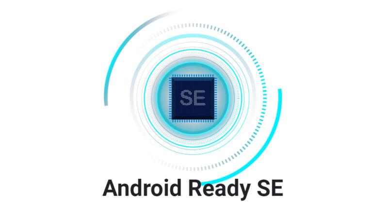 The Android Ready SE logo.