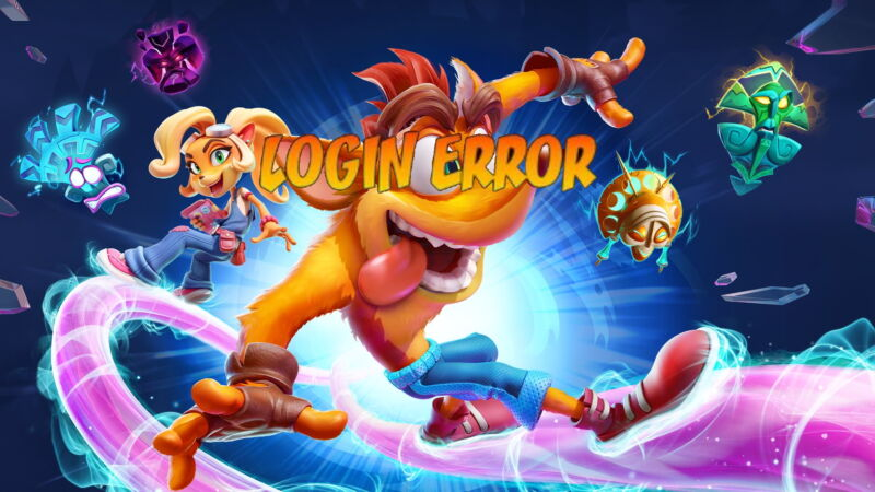 Want to avoid this warning message on <em>Crash Bandicoot 4</em>'s PC version? That's currently not an option for anyone who's bought the game.