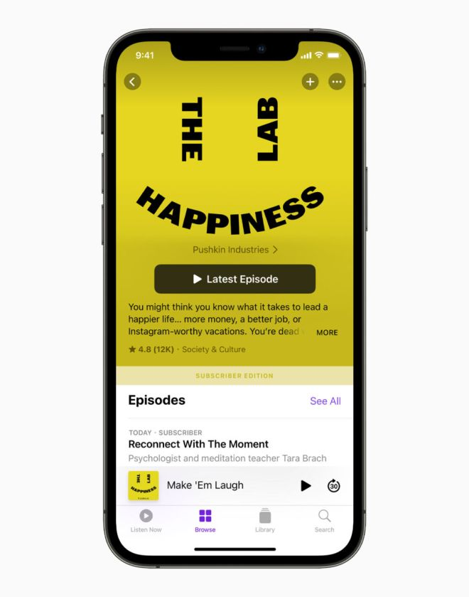 Apple_iPhone12Pro-HappinessLab-SubscriberEdition_061521-980x1246 Apple's podcast subscriptions went live today—with a 30 percent cut   Ars Technical