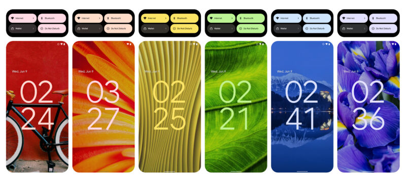 With Android 12 Beta 2, Google's color-changing UI is live, so we took a trip through the rainbow.