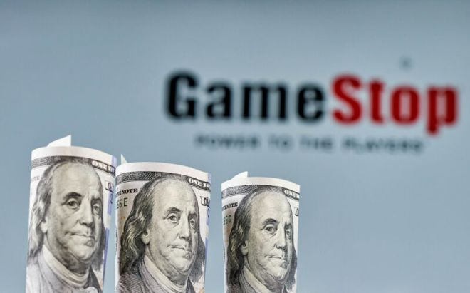 gamestopbenjamins-800x498 GameStop stock falls sharply amid 5M-share sales plan, SEC investigation   Ars Technical