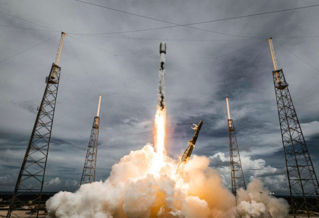 """Lynk's """"Shannon"""" satellite launched into space in June on SpaceX's Transporter-2 flight."""