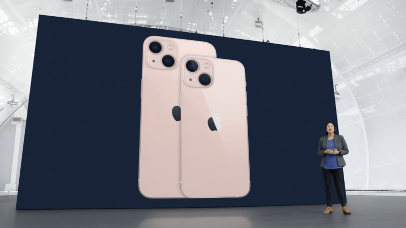 The IPhone 13 and iPhone 13 mini.