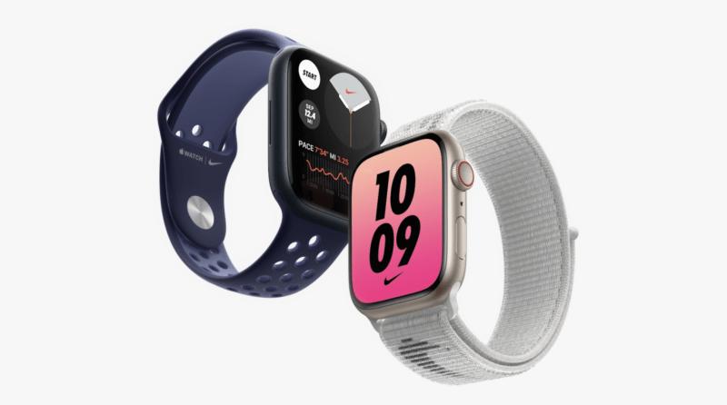 The Apple Watch Series 7.