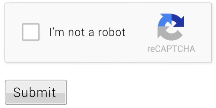 How to use reCAPTCHA in web App using Google App Scripts