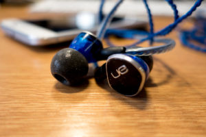 Foam tips like these fitted to UE900 earphones are the best way to get a good seal on a budget.