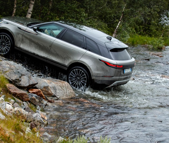 You Can Off Road The Range Rover Velar Its All Terrain Capabilities Are In Between The Evoque And The Sport But Very Few Owners Will