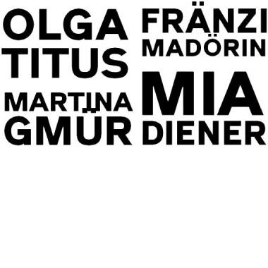 nextex: Olga Titus, Martina Gmür, Mia Diener und Fränzi