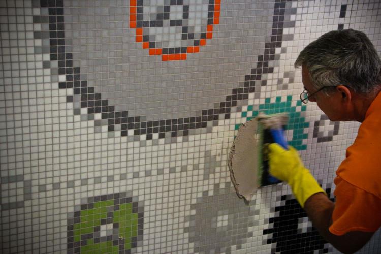 kitchen glass tile backsplash mobile trailers mosaic installation information - artaic