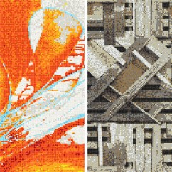 Kitchen Backsplash Patterns Old Cabinets For Sale Design Tips Choosing Best Mosaic Tile Pattern | Artaic