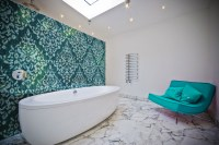 Turquoise Tile Bathroom | Tile Design Ideas
