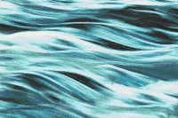 Turquoise waves Tile Pattern | Cascade Turquoise Dream by ...