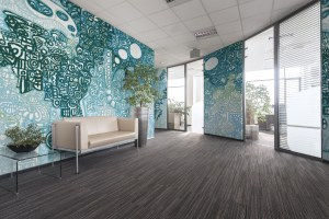 Artaic&39;s Glyph Sea Glass Design Featured In Healthcare ...