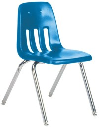 "Virco Classic Classroom Chair: 18"", Blue 40 :: Alvin ..."