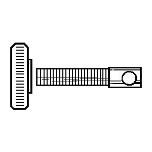 Alvin Replacement Compass/Divider Parts: Eye Bolt, and