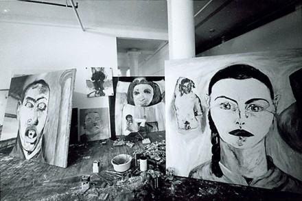 Gianfranco Gorgoni, Broadway Studio (1980s), Courtesy Thomas Ammann Fine Art AG, Zurich