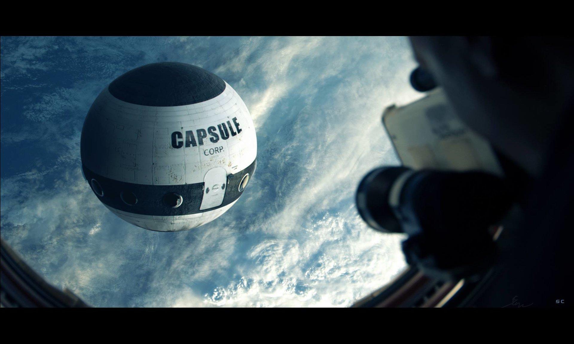 Capsule Corp. Fan Art Dbz