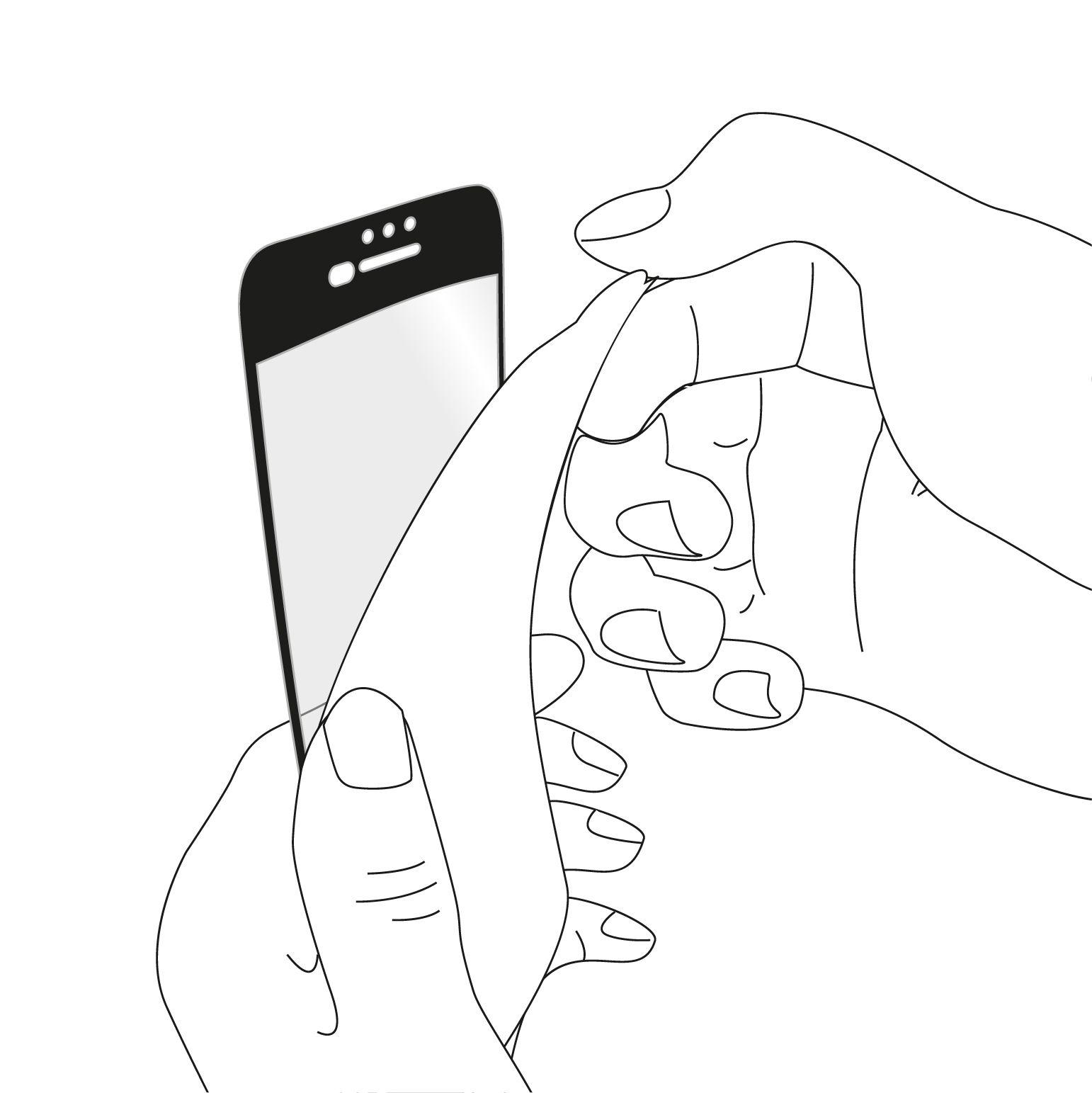 Anleitungen: CurvedDisplay für alle iPhone Modelle