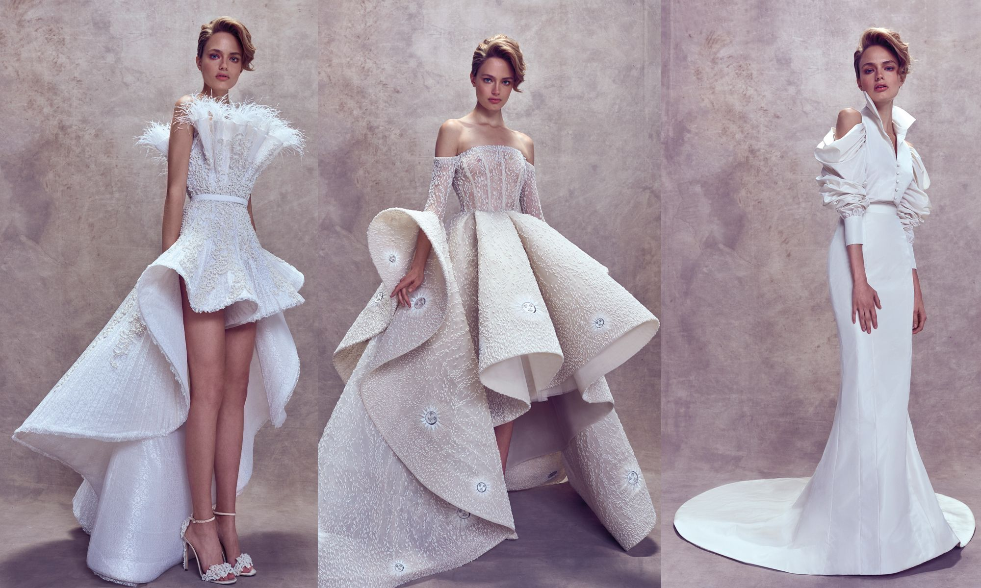 Dramatic Flair: The Hottest Wedding Dresses For 2018
