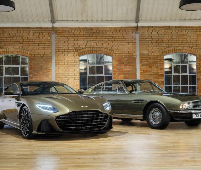 Special Edition Aston Martin Dbs Superleggera Pays Tribute To James Bond