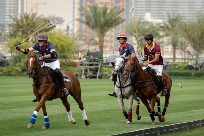 Royal Salute meets British Polo Day at Al Habtoor Polo Resort in Dubai