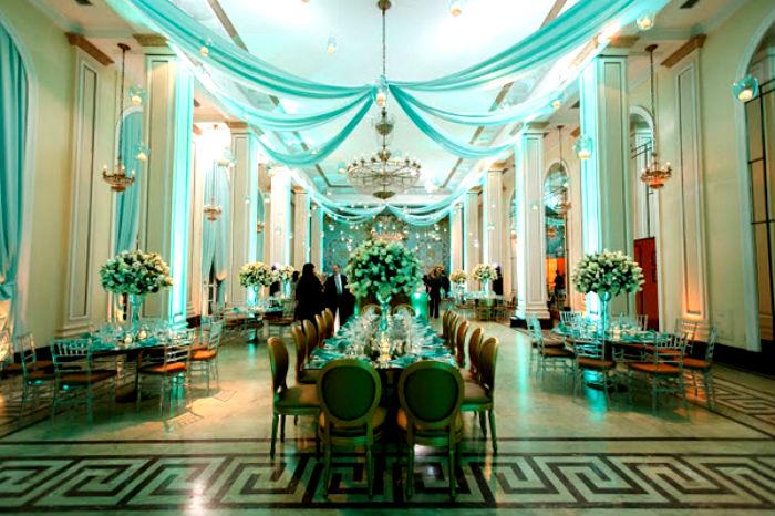 Azul Tiffany para decorao de casamento uma cor linda e