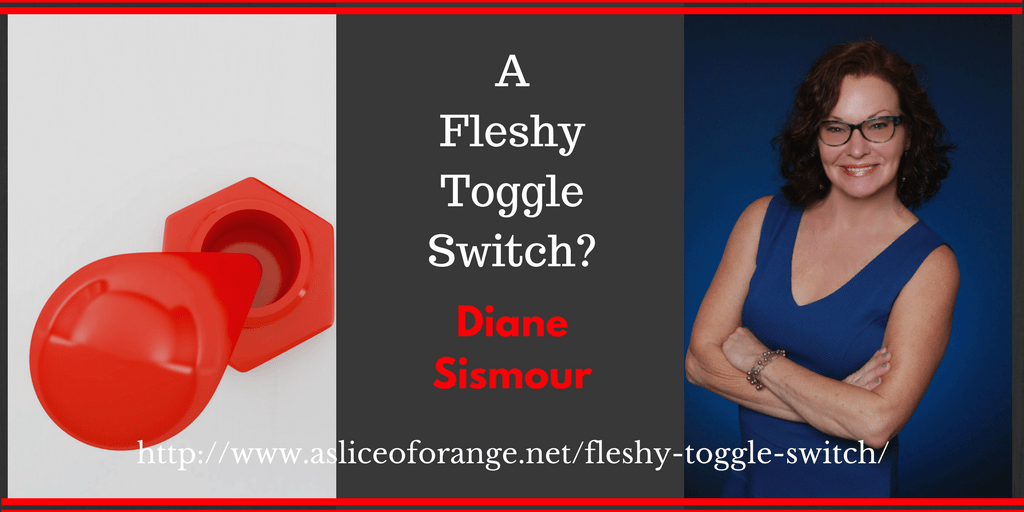 A Fleshy Toggle Switch | Diane Sismour | A Slice of Orange