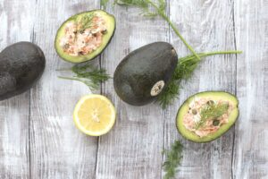 Smoked Salmon Stuffed Avocados