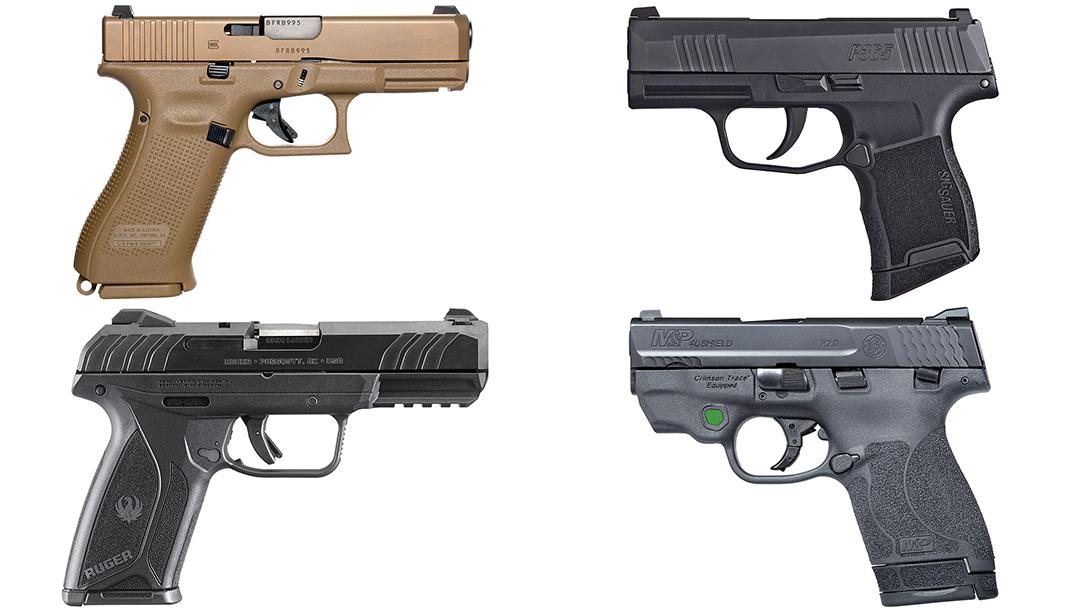 39 new handguns to