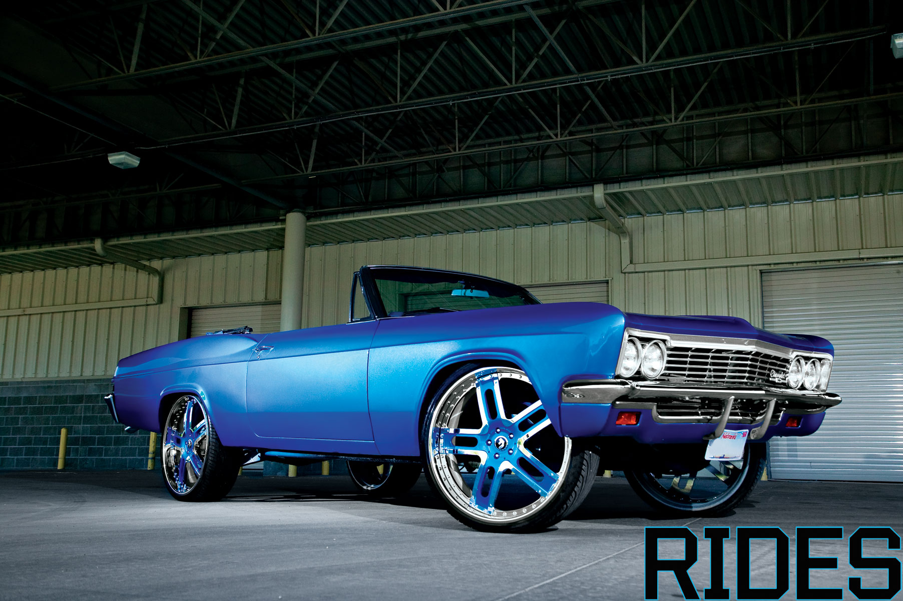 Car Rims And Tires Wallpaper 1966 Chevy Impala Rides Magazine
