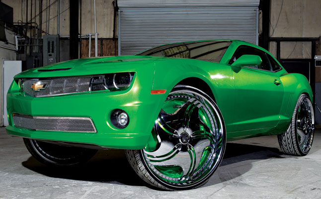 Car Rims And Tires Wallpaper 2010 Chevrolet Camaro On 30s Rides Magazine