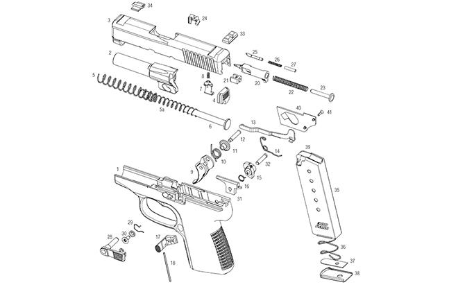 basic gun diagram 2007 suzuki eiger wiring back to basics understanding your handgun trigger hbg 2015 kahr p380