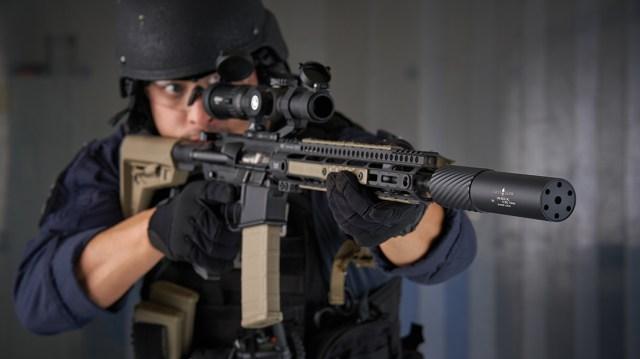 Multi-Caliber Suppressor