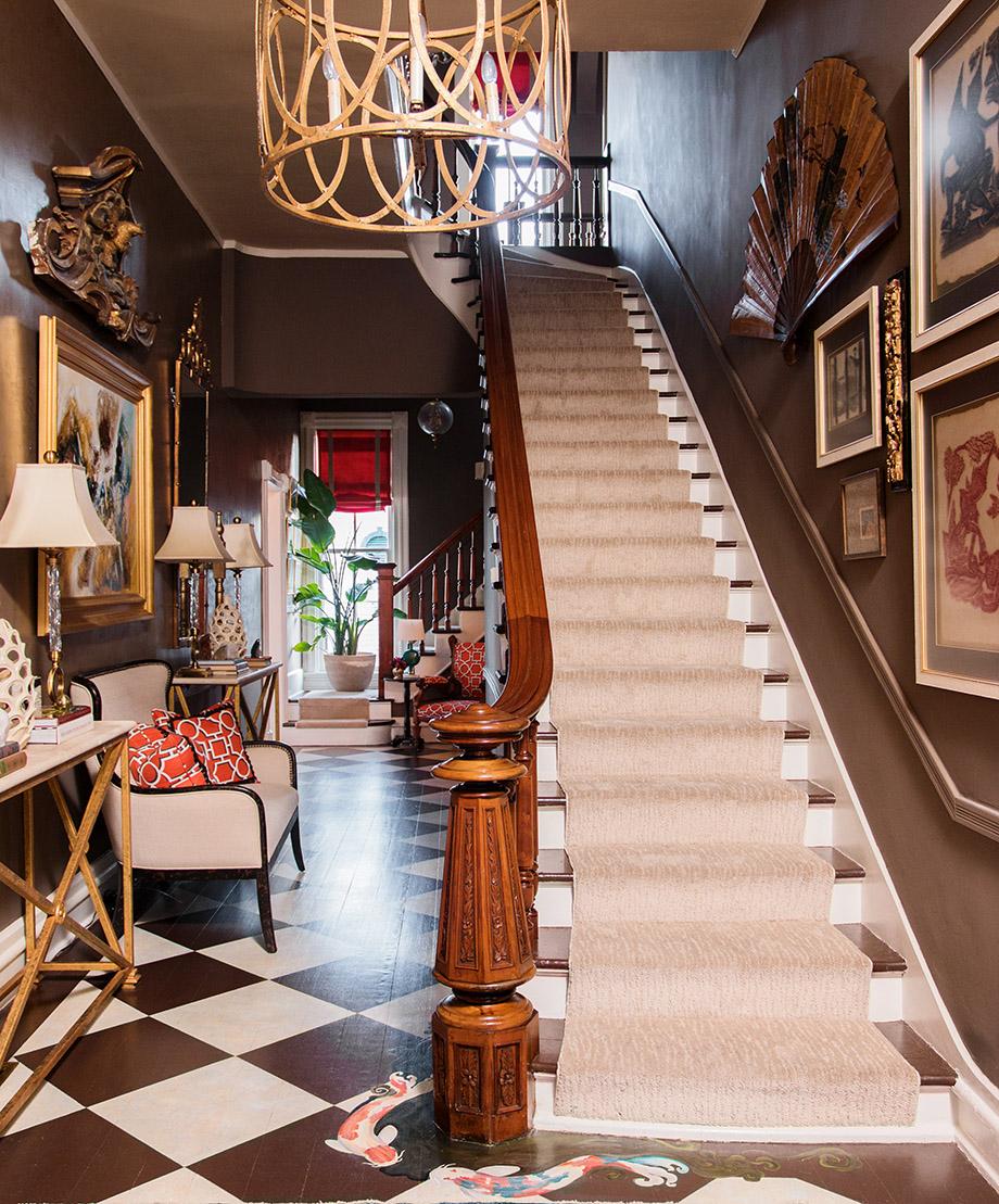 Room envy A Victorian foyer with a modern twist  Atlanta Magazine