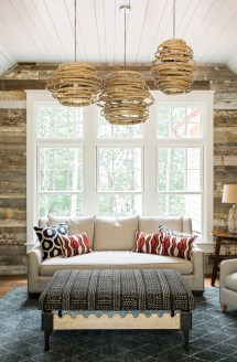 Family' Elegant Rustic Lake Allatoona House