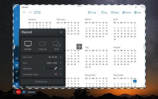 Screencast-O-Matic is a web-based screen recorder.