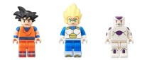 Figuras de LEGO de Dragon Ball Z! Bueno... casi