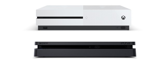 Resultat d'imatges de ps4 vs xbox one s