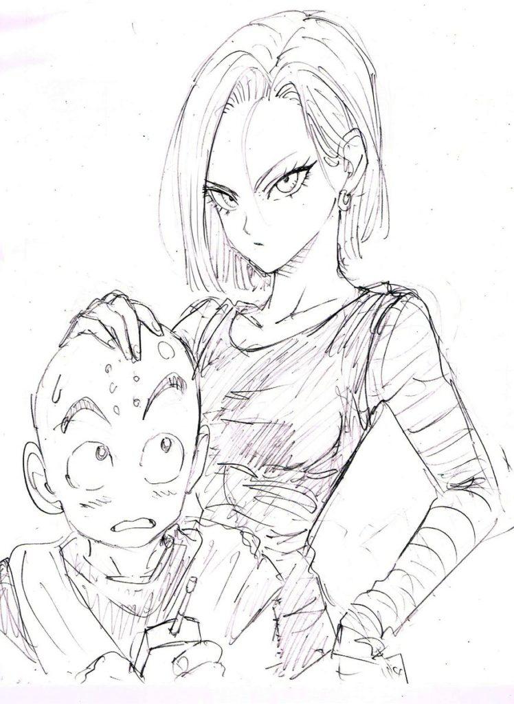 Mira cómo dibujó el artista de One Punch Man a Vegeta y