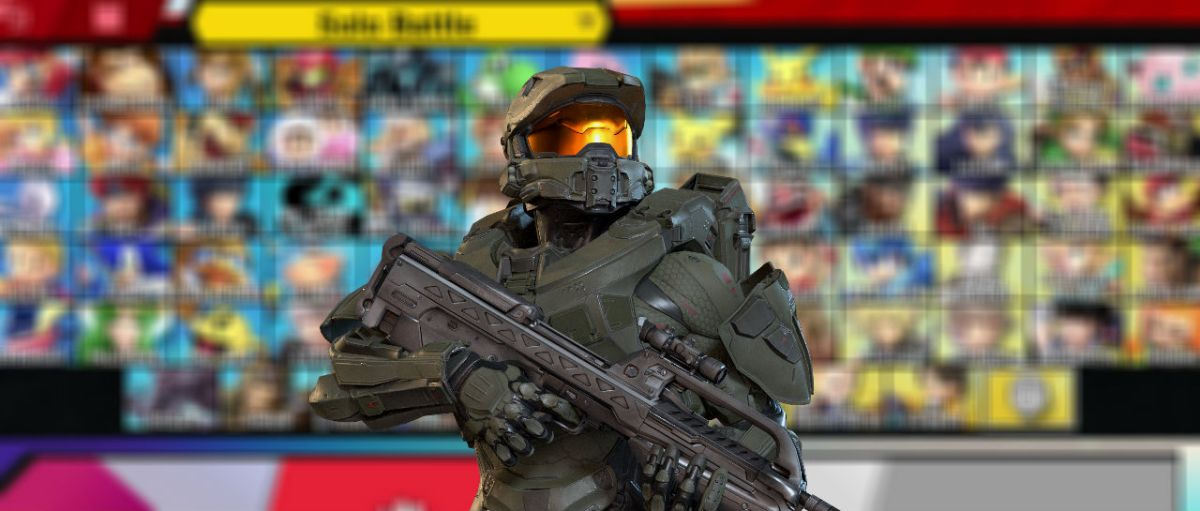 Master Chief Smash Atomix