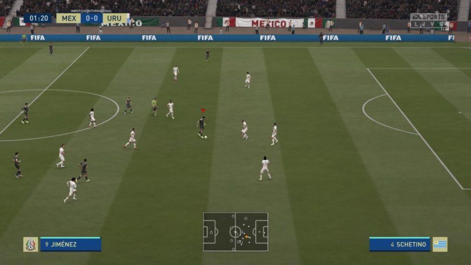 FIFA 20 Match Day en vivo 0-0 MEX – URU, 1.er tiempo