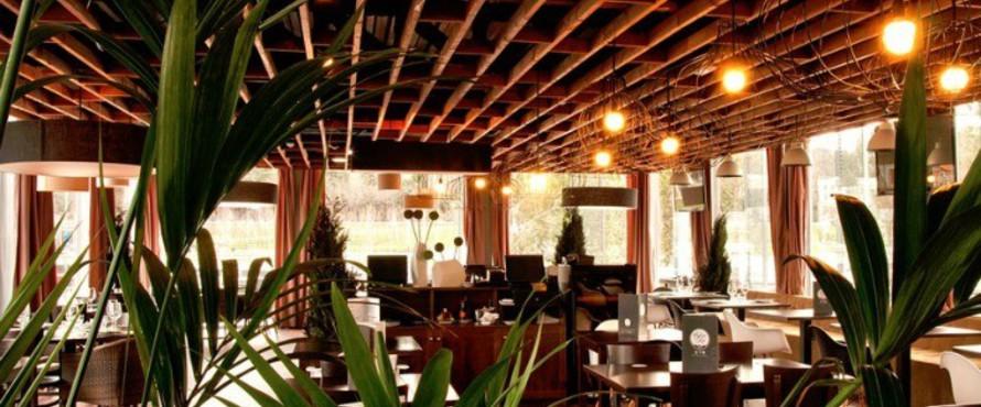 Restaurante Caf del Ro Aravaca  Atrapalocom