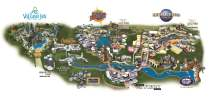 2018 Universal Orlando Resort Map