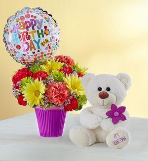 happy birthday flowers beaufort