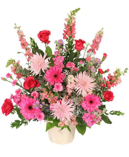 Beautiful Soul Funeral Flowers In Washburn ND JAVA ROSE