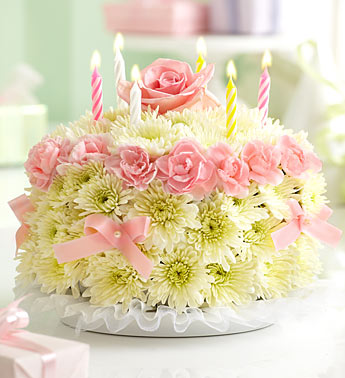 Birthday Cake In Mansfield Oh Janets Floral Design