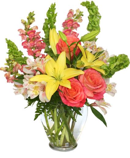 Carefree Spirit Flower Arrangement In Petersburg WV