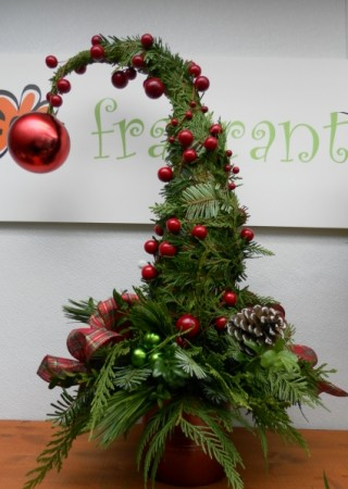 Grinch Tree In Calgary AB FIRST CLASS FLOWERS LTD