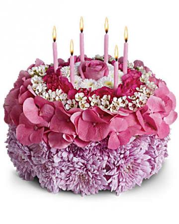 Happy Birthday Cake In Bellville Tx Ueckert Flower Shop Inc