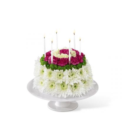 Happy Birthday To You Flowers Cake In Bradenton Fl Detalles En Flores